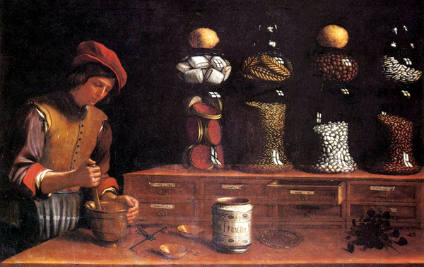 Paolo Antonio Barbieri - The Spice Shop (Quelle: Wikimedia Commons)