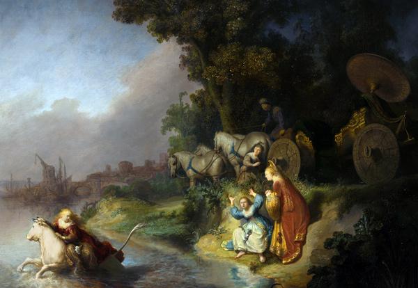 Rembrandt - De roof van Europa (Quelle: Wikimedia Commons)