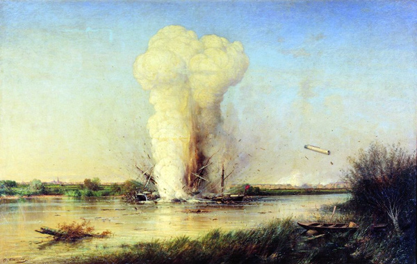 Unknown - Lufti Gelil explosion (Quelle: Wikimedia Commons)