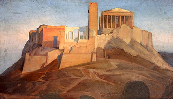 Jean Auguste Ingres - Acropolis (Quelle: Wikipaintings)