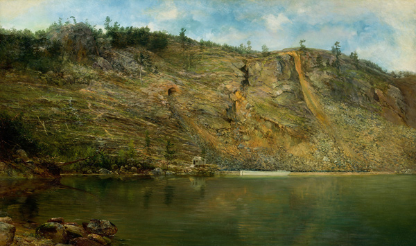 Homer Dodge Martin - The Iron Mine (Quelle: Wikipaintings)