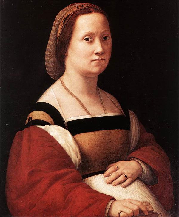 Raphael - La donna gravida (Quelle: Wikipaintings)