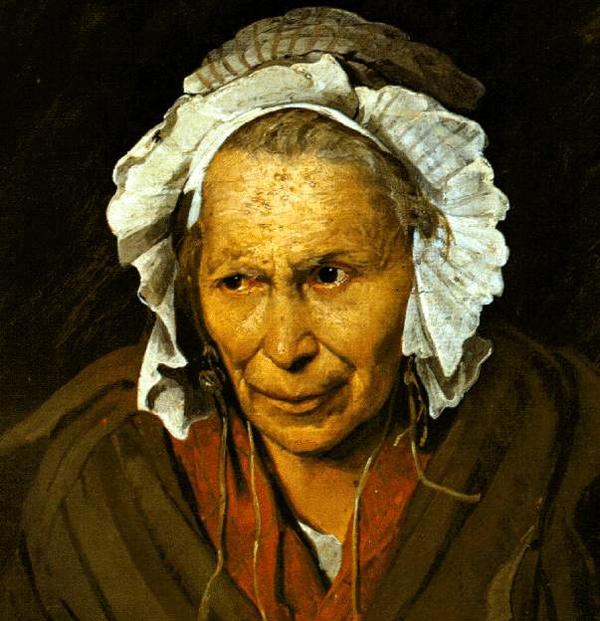Théodore Géricault - La Folle ou La Monomane de l'envie (Quelle: Wikimedia Commons)