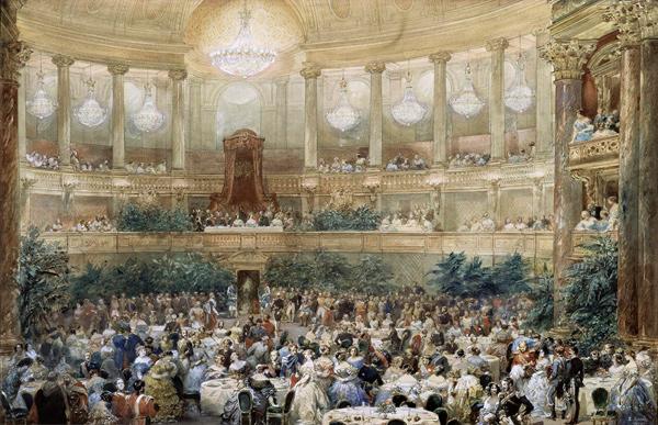 Eugène Lami - Visite de la reine Victoria (Quelle: Wikimedia Commons)