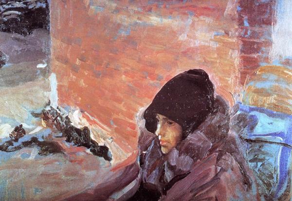 Joaquín Sorolla - Sick Maria (Quelle: Wikipaintings)