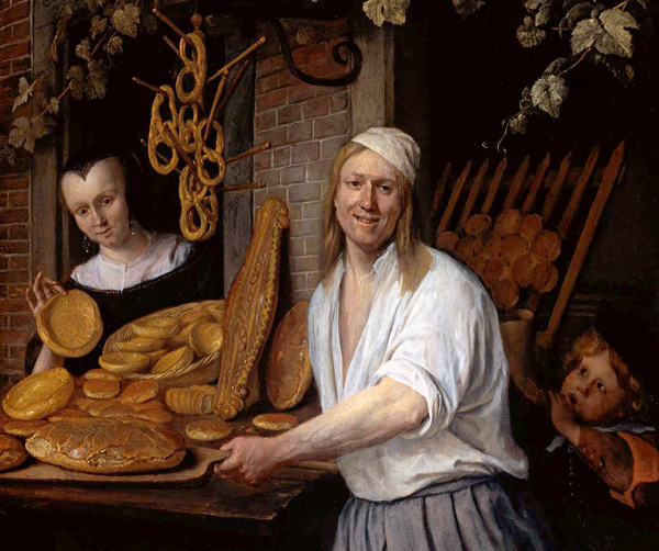 Jan Steen - Baker Oostwaert and his wife (Quelle: Wikipaintings)