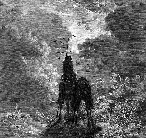 Gustave Doré - Don Quixote (Quelle: Wikipaintings)