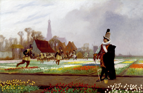 Jean-Léon Gérôme - The Tulip Folly (Quelle: Wikimedia Commons)