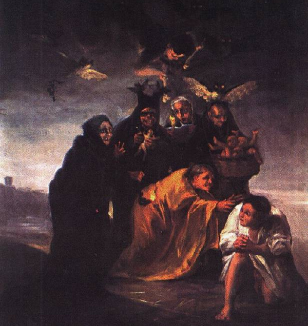 Francisco Goya - Incantation (Quelle: Wikipaintings)
