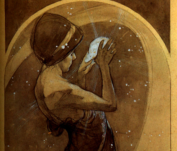 Alphonse Mucha - North Star (Quelle: Wikipaintings)