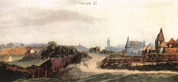 Albrecht Dürer - Nürnberg (Quelle: Wikipaintings)