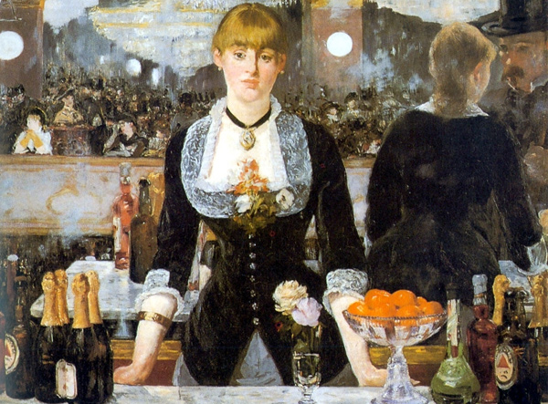 Edouard Manet - A Bar at the Folies-Bergère (Quelle: Wikipaintings)