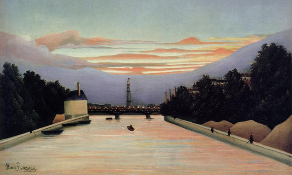 Henri Rousseau - The Eiffel Tower, Paris (Quelle: Wikipaintings)