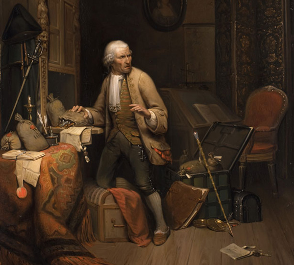 Constant Wauters - The servant as a thief (Quelle: Wikimedia Commons)