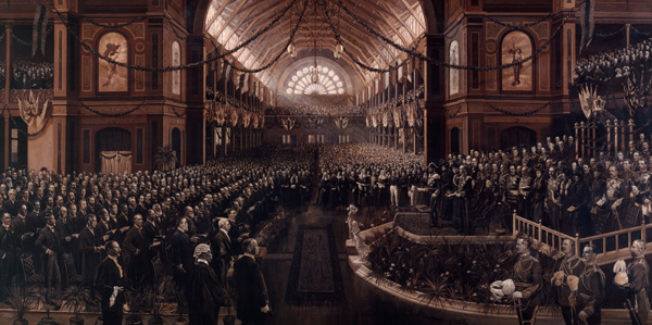 Charles Nuttal - Opening of the First Commonwealth Parliament (Quelle: Wikimedia Commons)