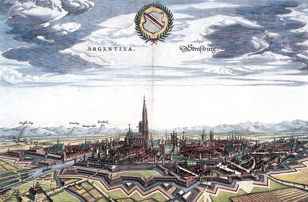 Merian - Straßburg (Quelle: Wikimedia Commons)