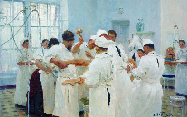 Ilya Repin - The surgeon E.V. Pavlov (Quelle: Wikimedia Commons)