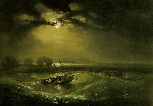 William Turner - Fishermen at sea (Quelle: Wikiart)