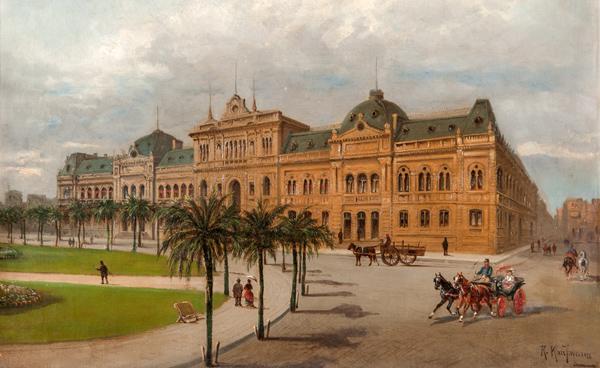 Karl Kaufmann - Buenos Aires, Casa de Gobierno (Quelle:: Wikimedia Commons)