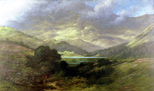 Gustave Doré - The Scottish Highlands (Quelle: Wikimedia Commons)