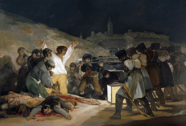 Francisco Goya - The Third of May 1808 (Execution of the Defenders of Madrid) (Quelle: Wikiart)