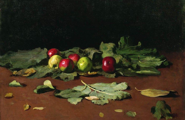 Ilya Repin - Apples and Leaves (Quelle: Wikiart)