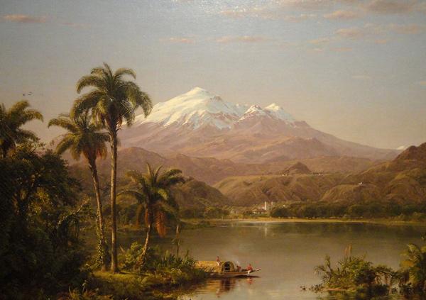 Frederic Edwin Church - Tamaca palms (Quelle: Wikiart)