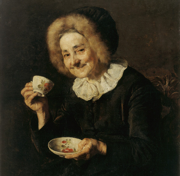 Ivana Kobilca - Coffee drinker (Quelle: Wikimedia Commons)
