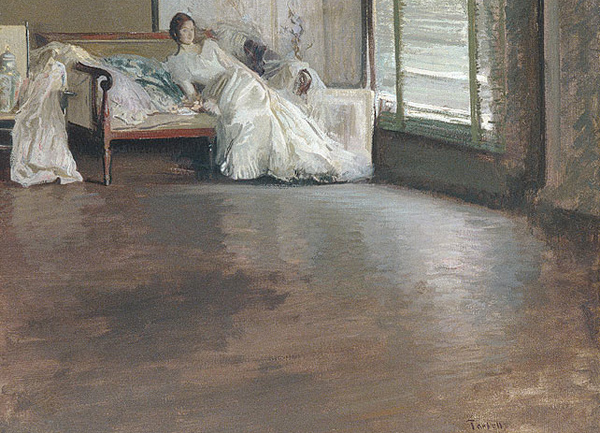 Edmund Charles Tarbell - Across the room (Quelle: Wikiart)