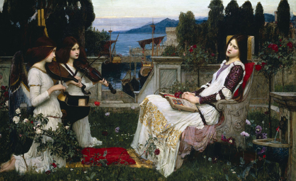 John William Waterhouse - Saint Cecilia (Quelle: Wikimedia Commons)