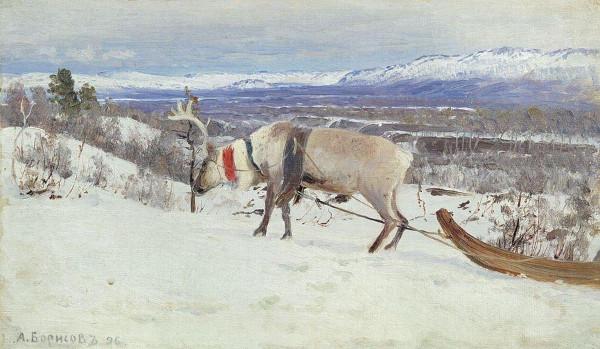 Alexander Borisov - Reindeer (Quelle: Wikimedia Commons)