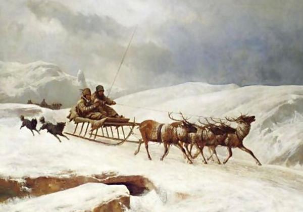 Andras Marko - A Brisk Reindeer Sleigh Ride