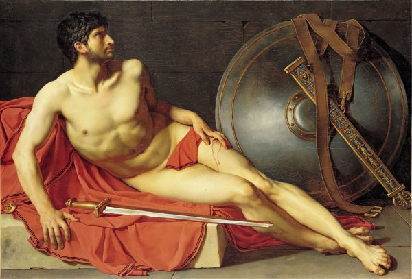 Jean-Germain Drouais - Dying Athlete or Wounded Roman Soldier (Quelle: Wikimedia Commons)