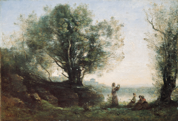 Camille Corot - Orpheus Lamenting Eurydice (Quelle: Wikiart)