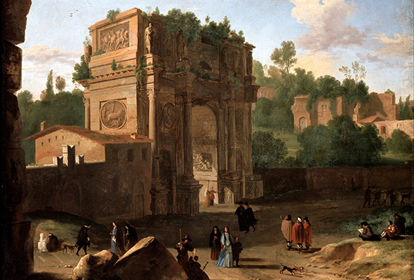 Herman van Swanevelt, The Arch of Constantine in Rome (Quelle: Wikimedia Commons)