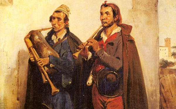 Horace Vernet - Village Musicians (Quelle: Wikiart)