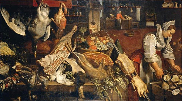 Frans Snyders - Kitchen scene (Quelle: Wikiart)