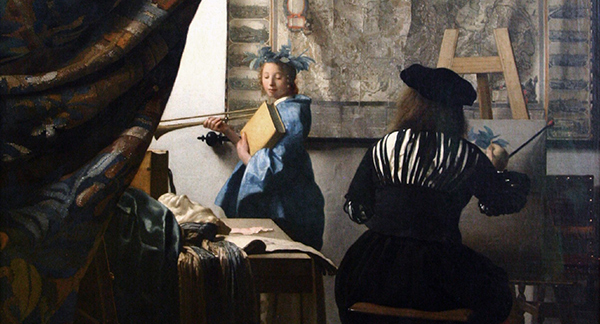 Jan Vermeer - The Art of Painting (Quelle: Wikimedia Commons)